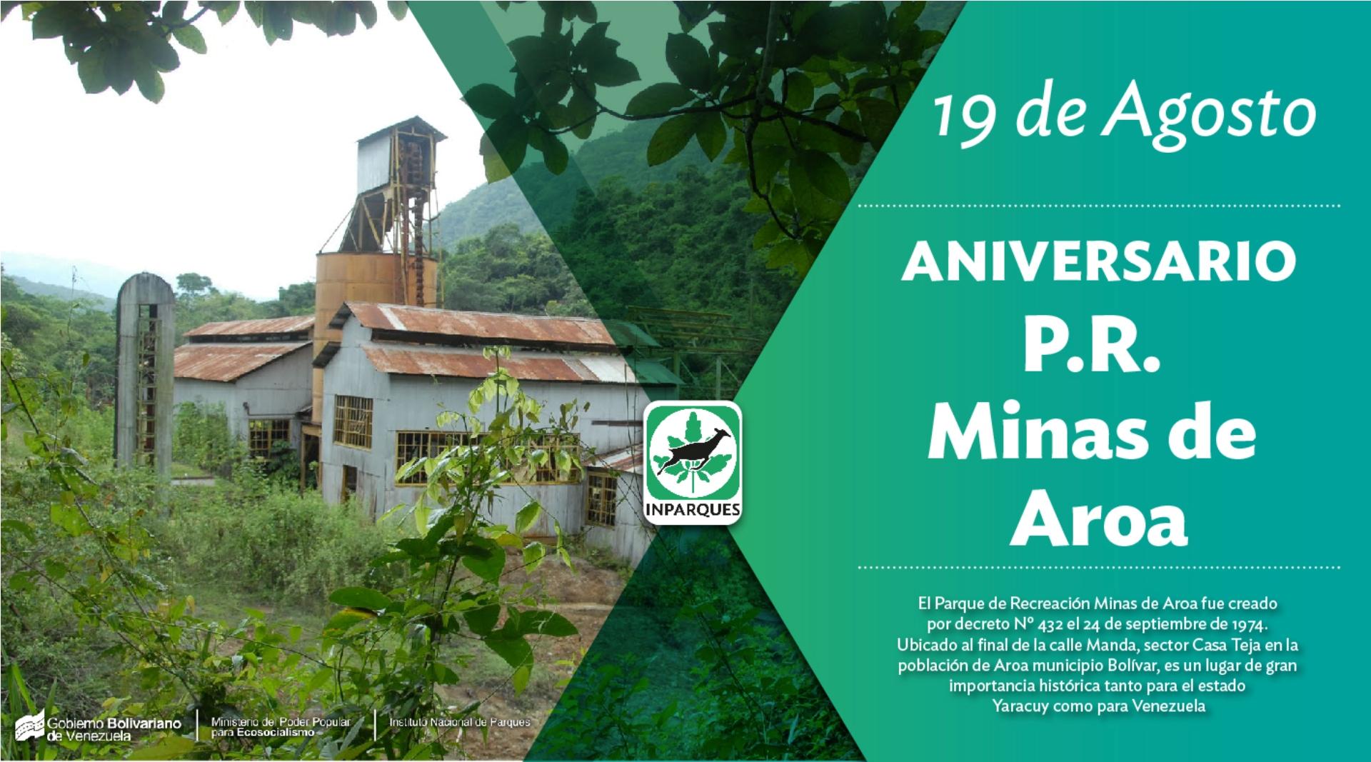 Parque Recreacional Bolivariano Minas de Aroa cumple 41 años al servicio del pueblo